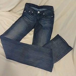 Rock Republic jeans long lean thin sz 25
